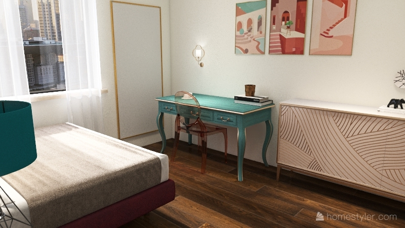 luxury condo design Interior Design Render