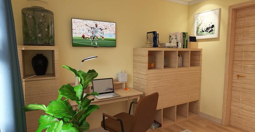 Pokój Rafała Interior Design Render
