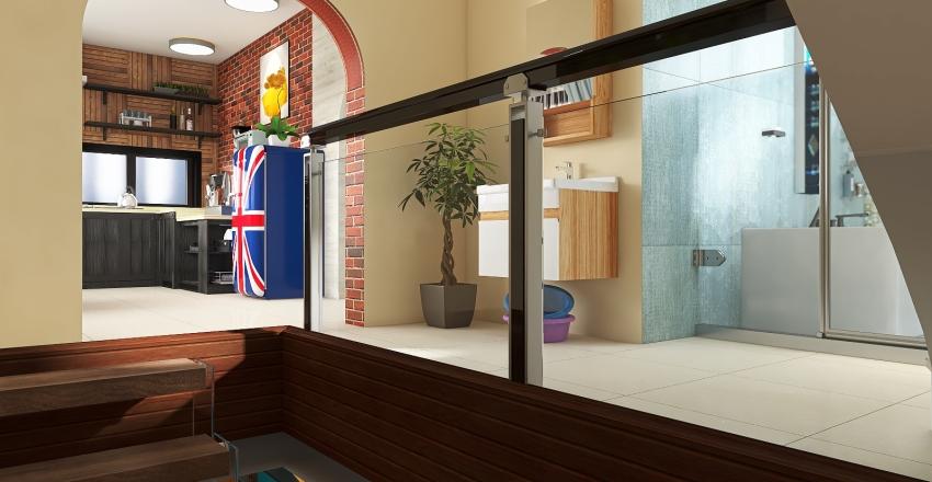 my forest house Interior Design Render
