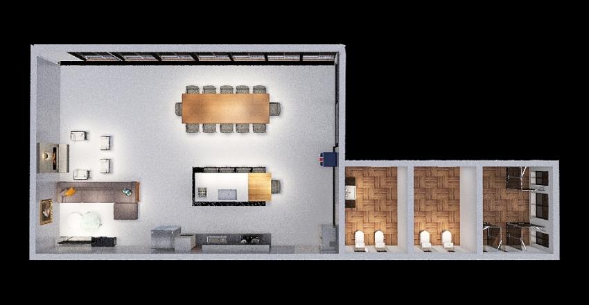 ESPAÇO GOURMET Interior Design Render