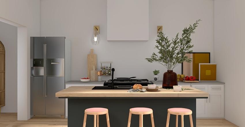 co house Interior Design Render