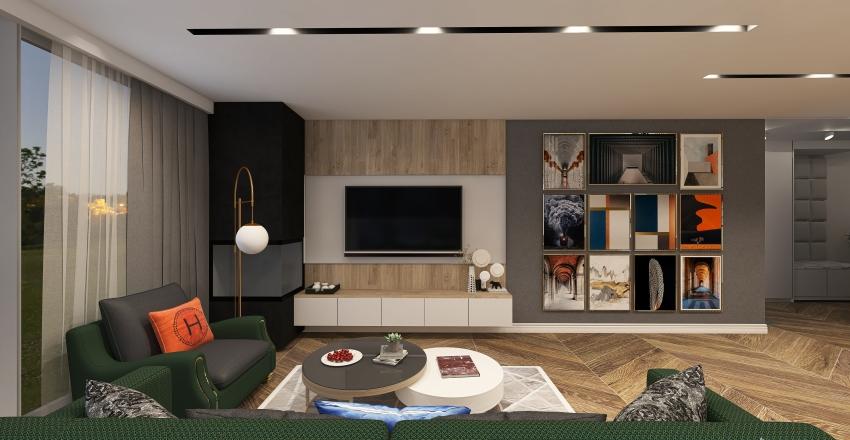 Home Józefosław Interior Design Render
