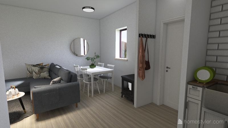 Aldeanueva Casa Completa Interior Design Render