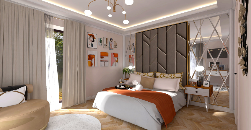 Sandra Interior Design Render