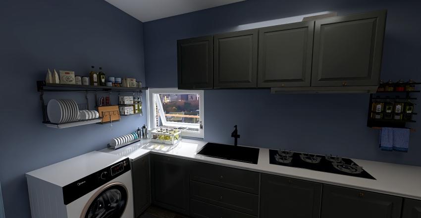 Mini Apartmen Interior Design Render