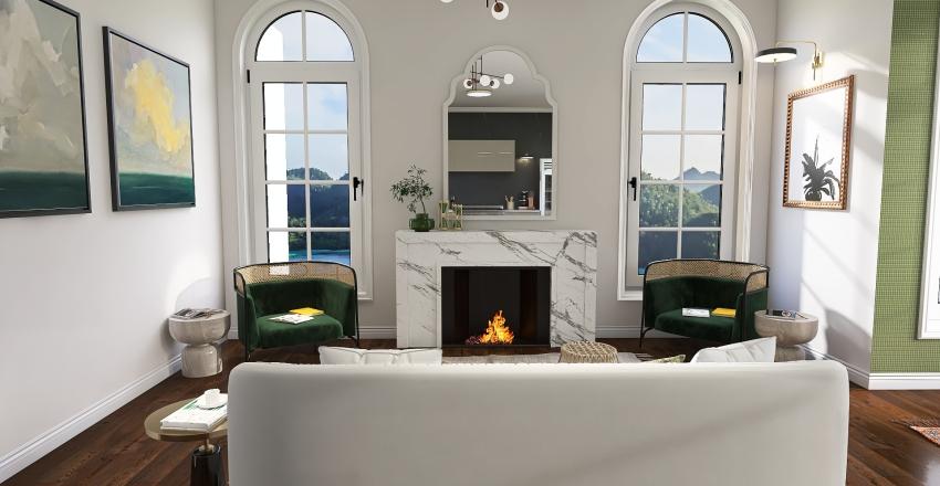 Warmer Weather Interior Design Render