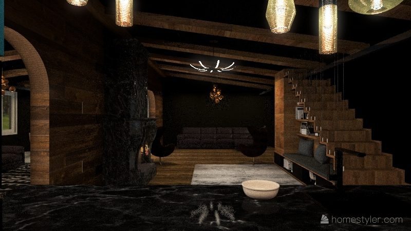 Hobbiton Interior Design Render