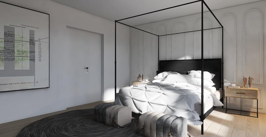 JAPANESE FARMHOUSE Interior Design Render