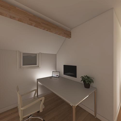 weerdstraat boven 2 Interior Design Render