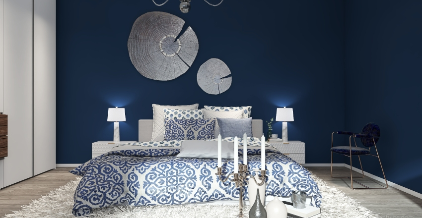 IN BLUE Interior Design Render