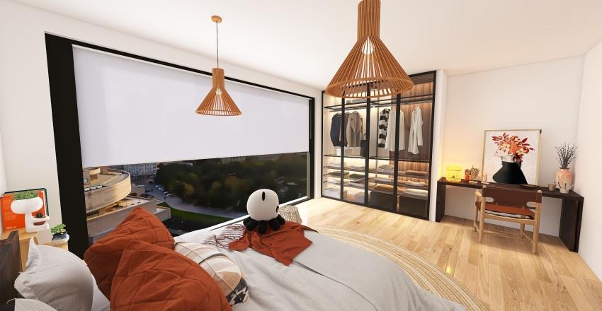 NYC penthouse Interior Design Render