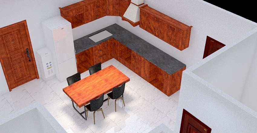 nhà 1 Interior Design Render