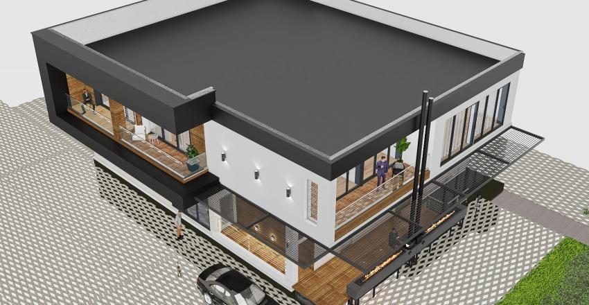 Кафе Лафа 5_copy Interior Design Render