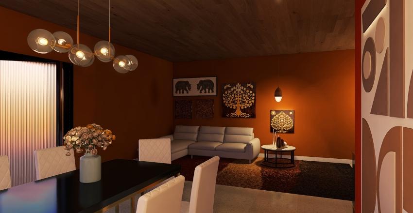CORES VIBRANTES Interior Design Render