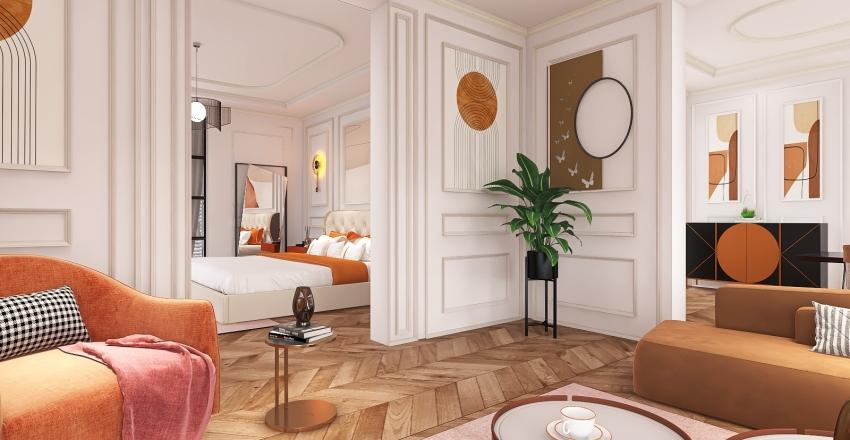 New models, new apartment Interior Design Render