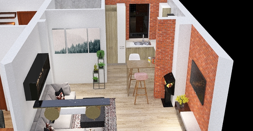 nowy wykonawca Interior Design Render