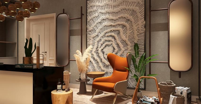 Cozy master closet Interior Design Render