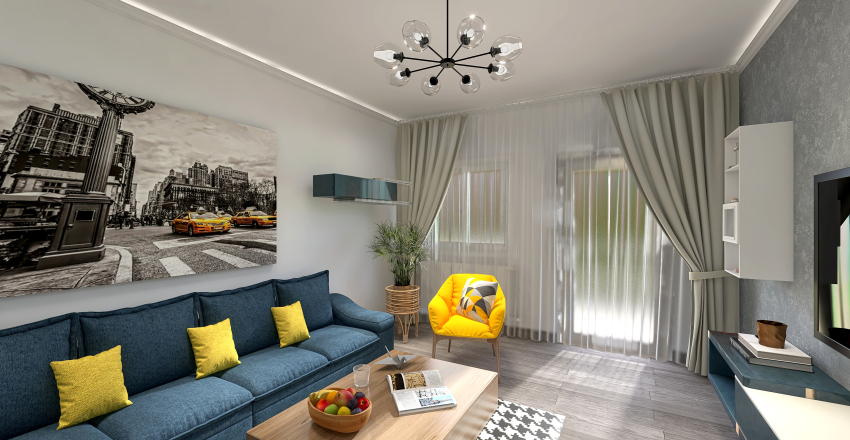 Pallady Apartment Interior Design Render