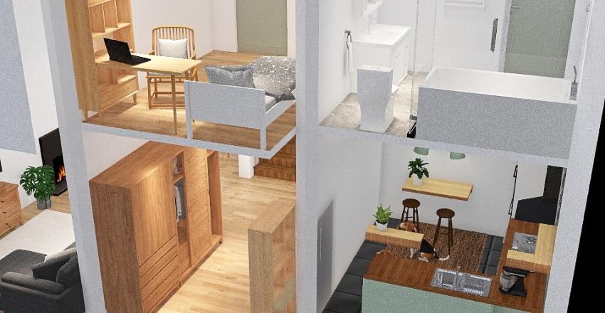 house project 1 Interior Design Render