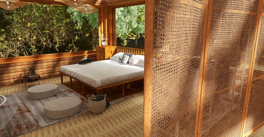Meadow Cabin Interior Design Render