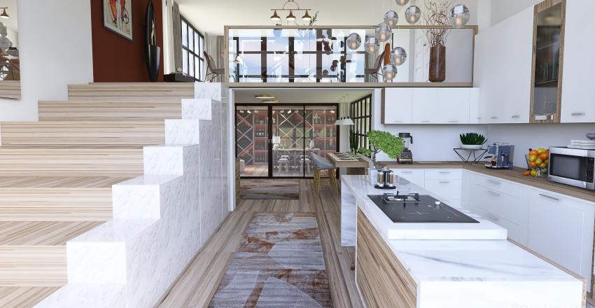 The Cellar Interior Design Render