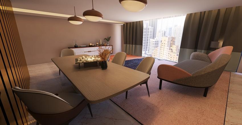 dinging room  Interior Design Render