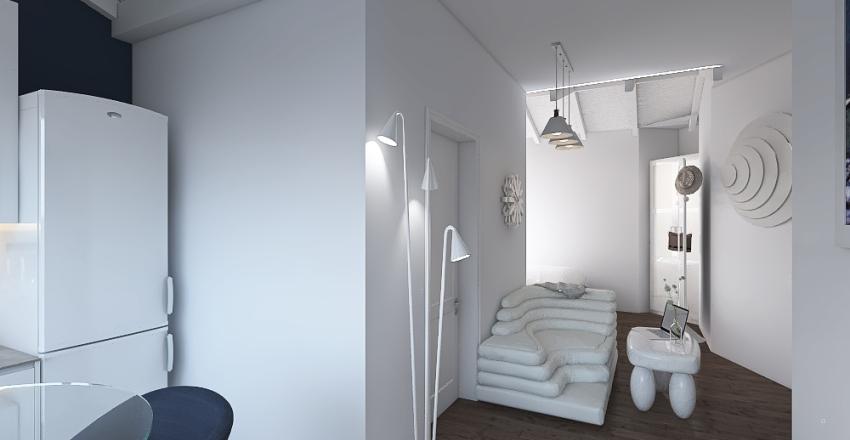 Casa pequeña Interior Design Render