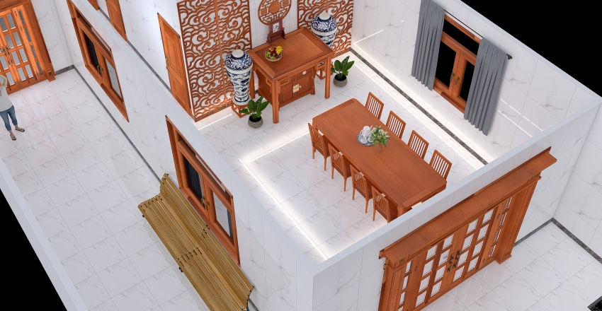 Copy of nhà 3 Interior Design Render