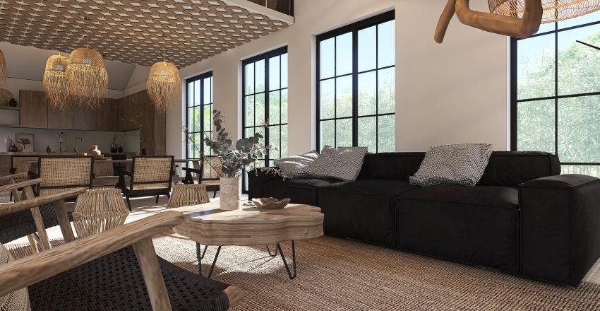 LIVING IT SIMPLE Interior Design Render