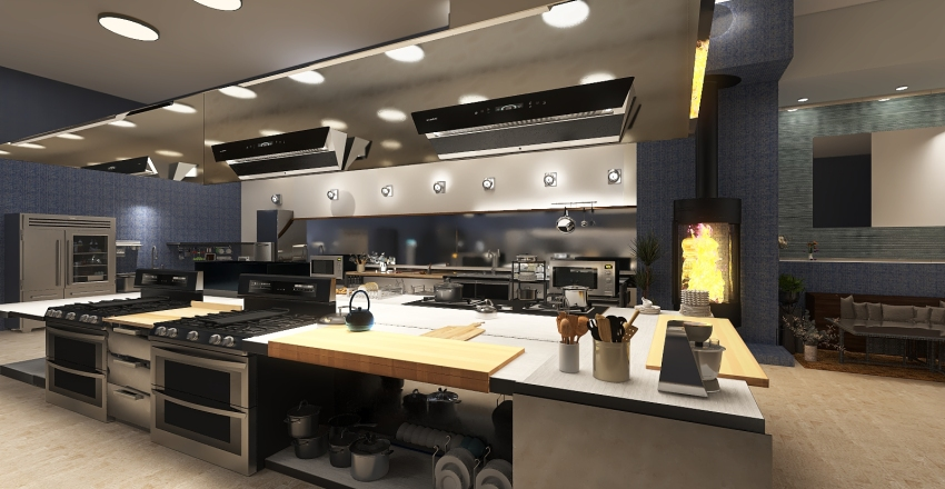 #H.K Interior Design Render