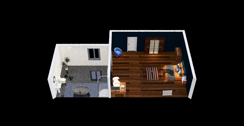 Room Project Interior Design Render