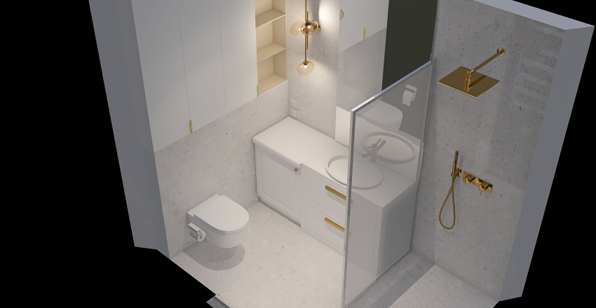 NewDesignBathroom_copy Interior Design Render