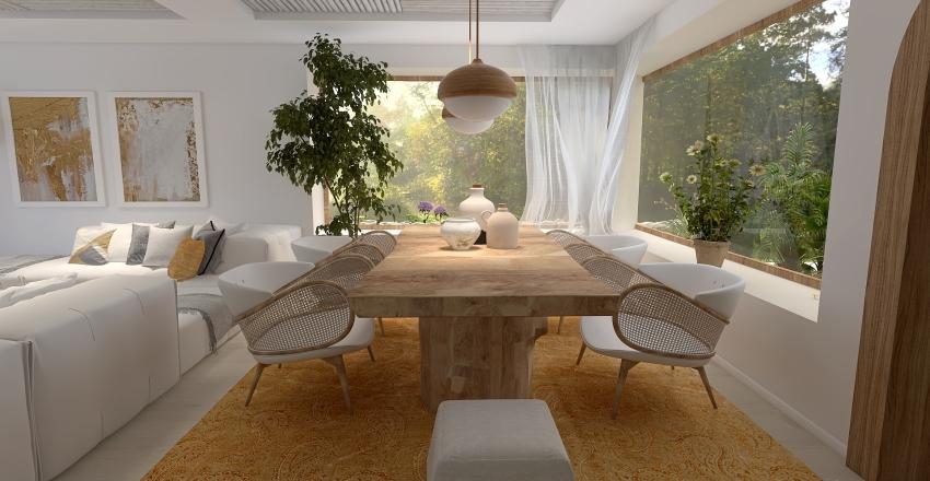 Casa en las afueras Interior Design Render