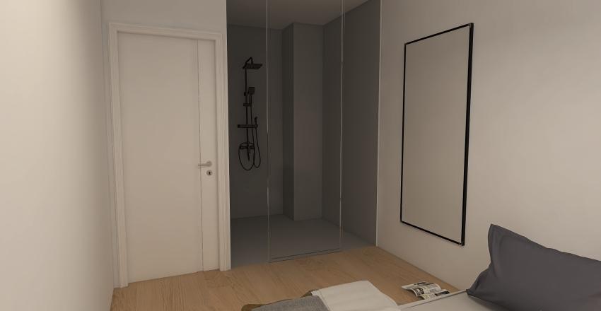 94 walk in w sypialni Interior Design Render