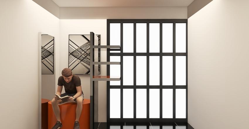 Ex alloggio del custode Interior Design Render