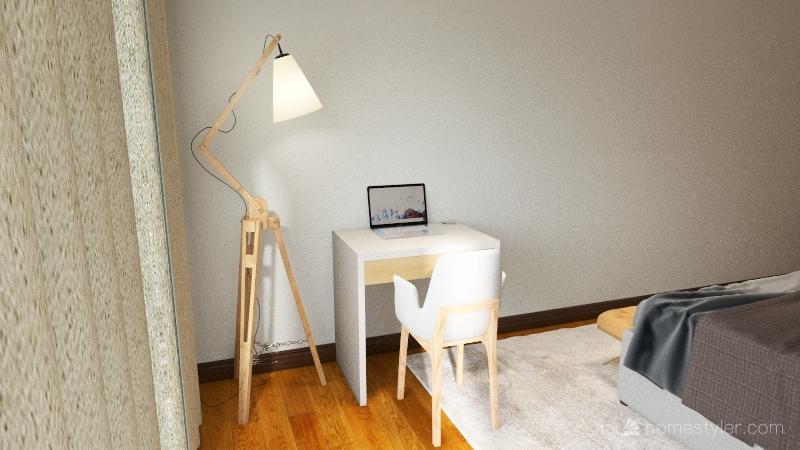 Quarto Chica Interior Design Render