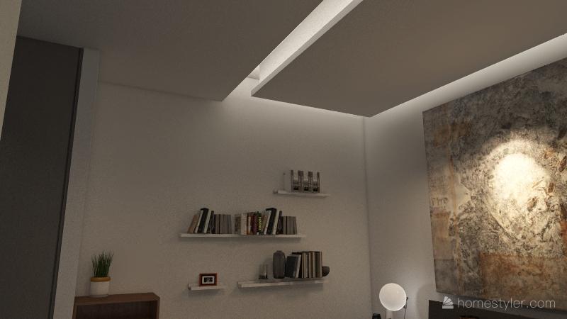 appartamento Serio CONTROSOFFITTI Interior Design Render