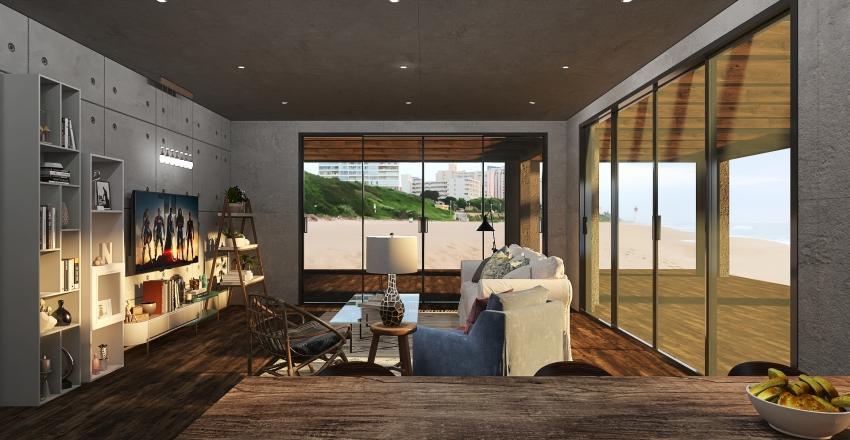 Beach Shack 2 Interior Design Render