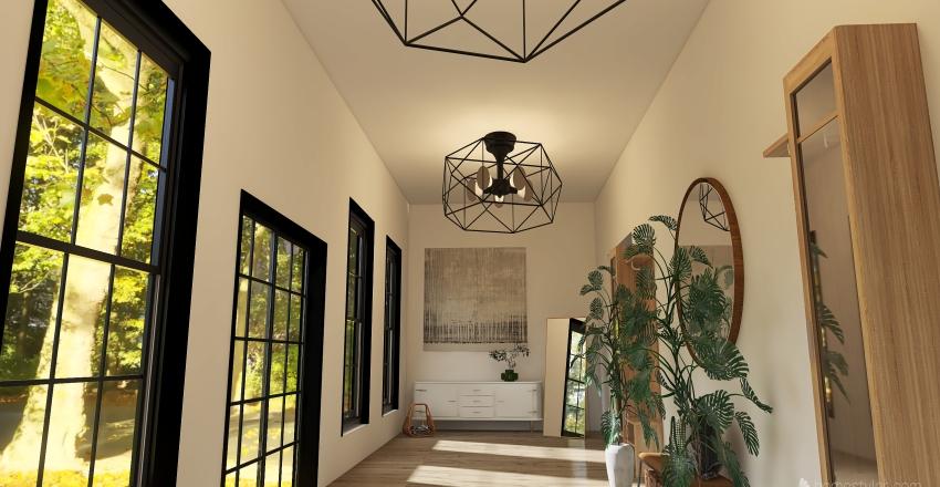 Portland Cabin Interior Design Render