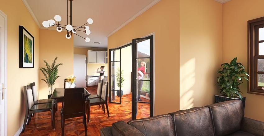 condominio Interior Design Render