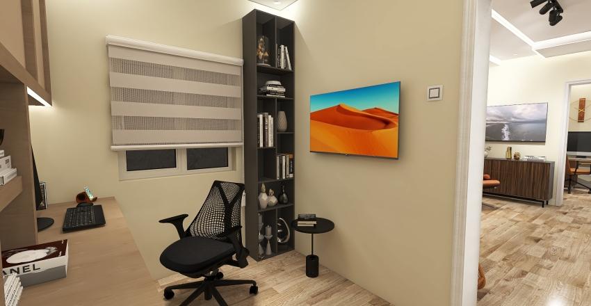 Studio Project Interior Design Render