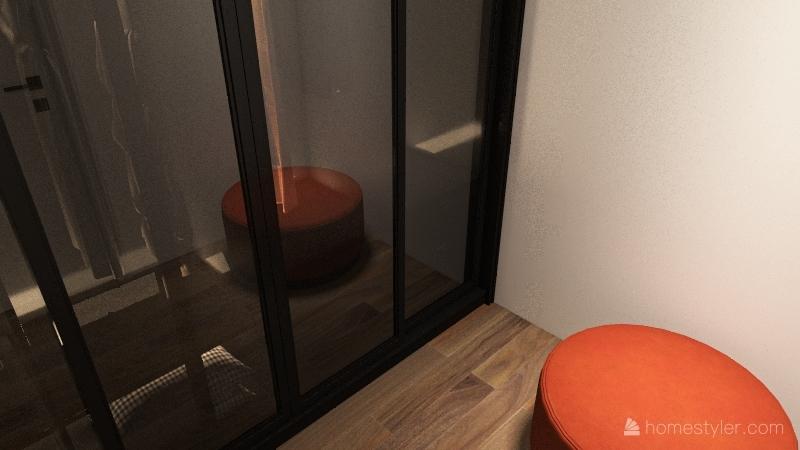 877 Apartment Interior Design Render