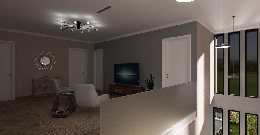 North Europe style Interior Design Render