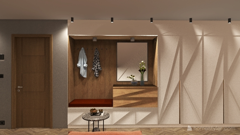118 M2 apartment Interior Design Render