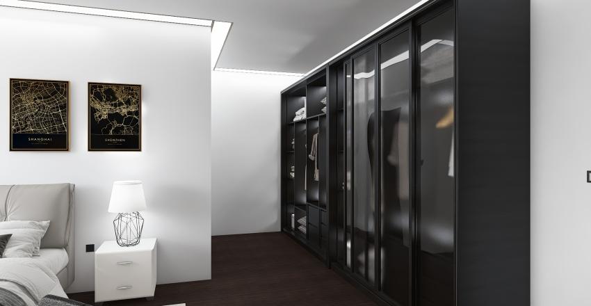 hotel room Interior Design Render