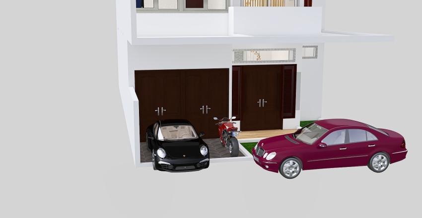 C SWIMMING POOL NEW CARPORT VOID HOME SWEET HOME 3 KTB Interior Design Render