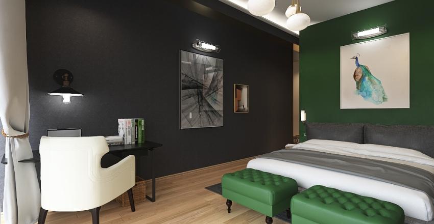 Master's bedroom Interior Design Render