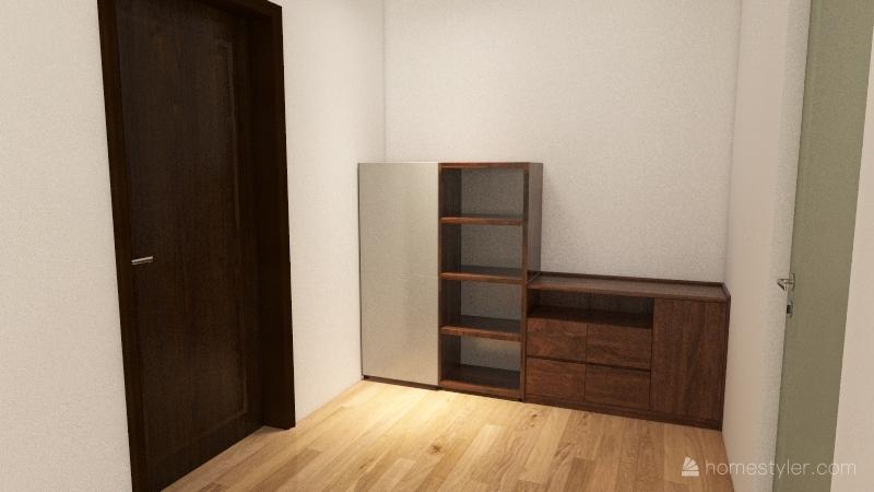 flat 1 Interior Design Render
