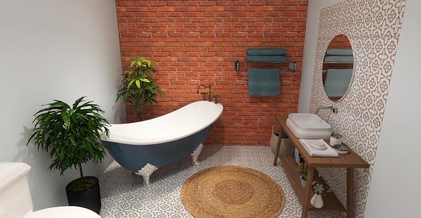 Victorian terrace house Interior Design Render