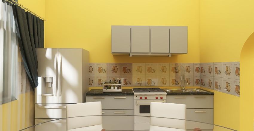 Remodelación de una casa. Interior Design Render